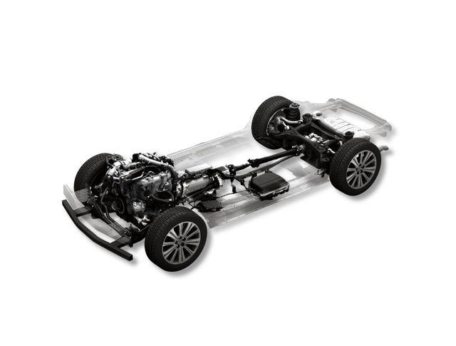 mazda straight six rear drive platform