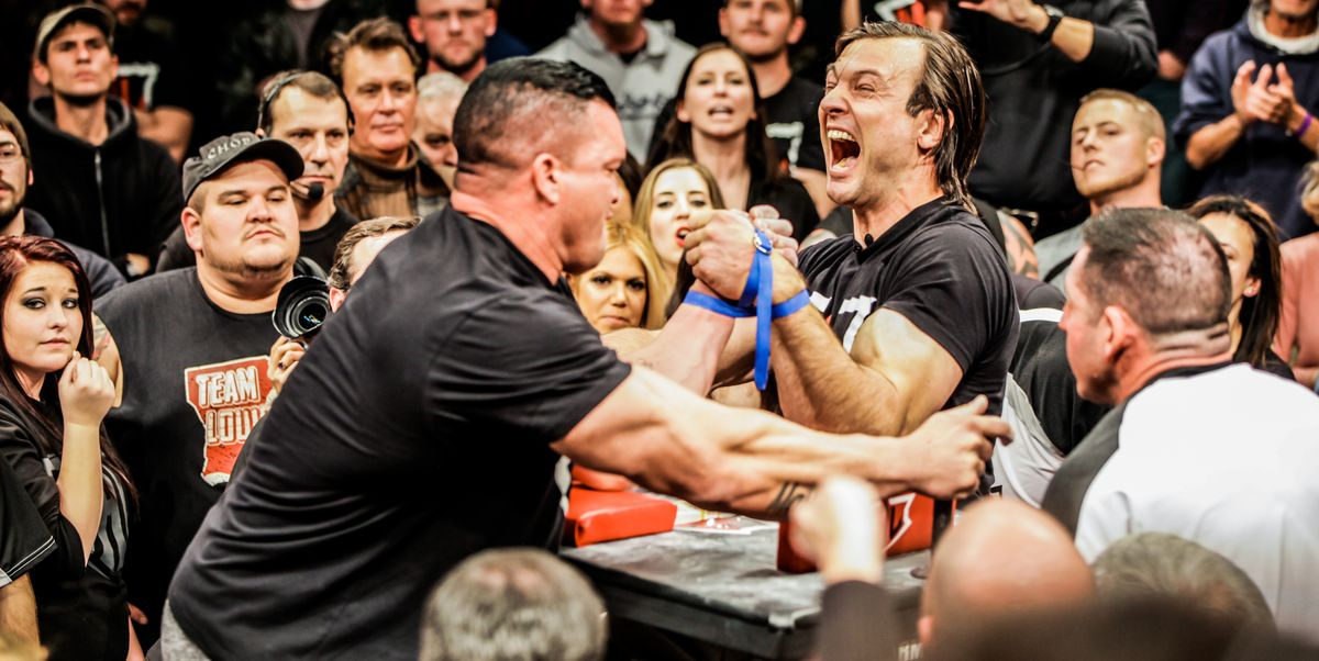 Pro Armwrestlers Share Forearm Workout Tips - World ...