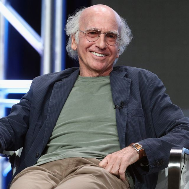 beverly hills, ca   july 26  creatorexecutive producer larry david of curb your enthusiam speaks onstage during the hbo portion of the 2017 summer television critics association press tour at the beverly hilton hotel on july 26, 2017 in beverly hills, california  photo by frederick m browngetty images