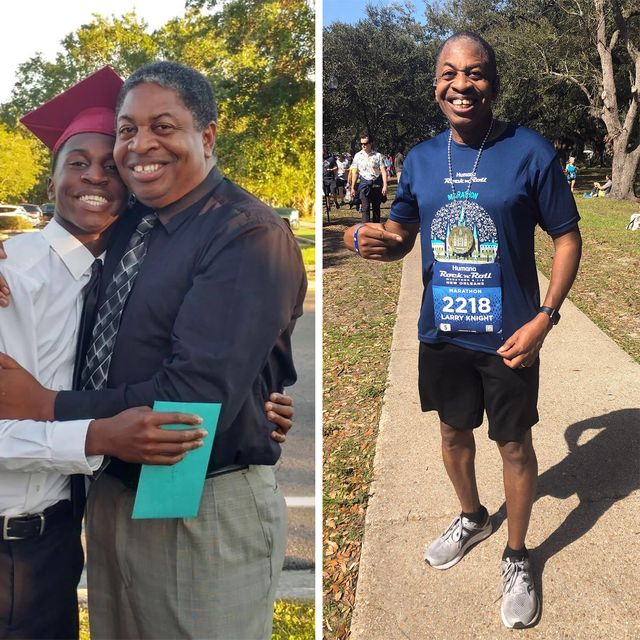 larry knight how running changed me