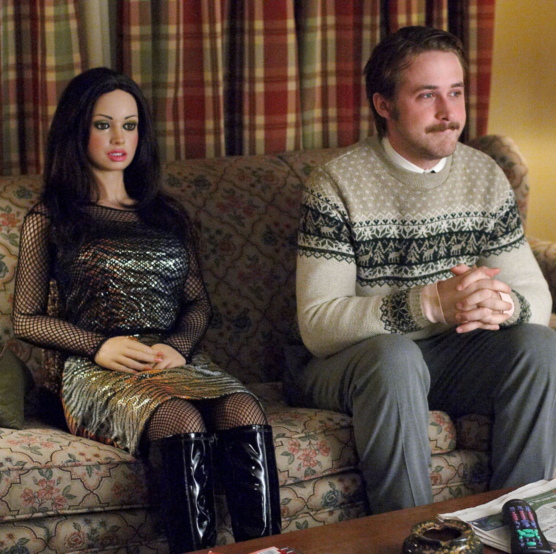 Lars and the Real Girl Ryan Gosling plays a quiet and lonely young man who falls in love with a sex doll in this light-hearted, small-town comedy that works thanks Gosling's compassionate and funny performance.