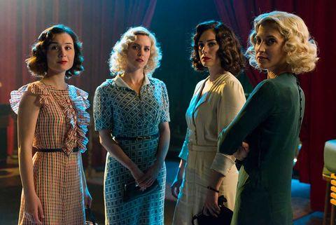 """Primeras imágenes de la cuarta temporada de """"Las chicas del cable"""""""