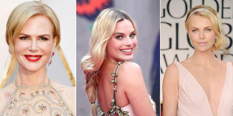 Nicole Kidman, Margot Robbie y Charlize Theron