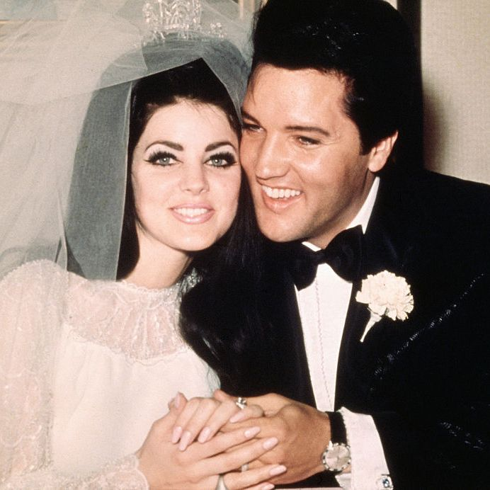 Priscilla and Elvis Presley Elvis and Priscilla became an iconic couple when they got married in 1967. The two met when she was just 14 and, by the time they got hitched, he was one of the biggest rockstars in the world.