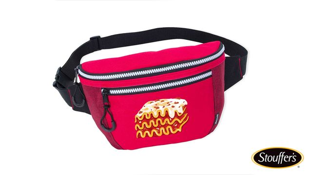 stouffer's insulated fanny pack for lasagna