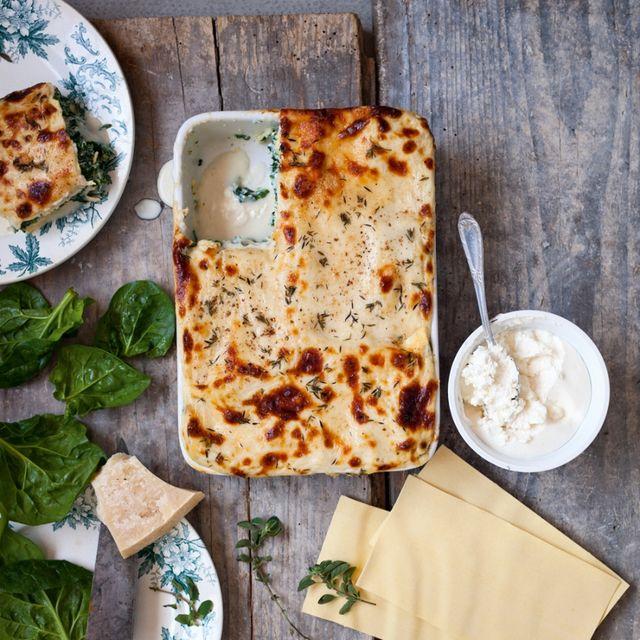 lasagne spinazie ricotte