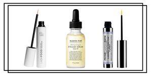 LashFood lash serum; Peter Thomas Roth eyelash serum; Majestic Pure Eyelash Serum