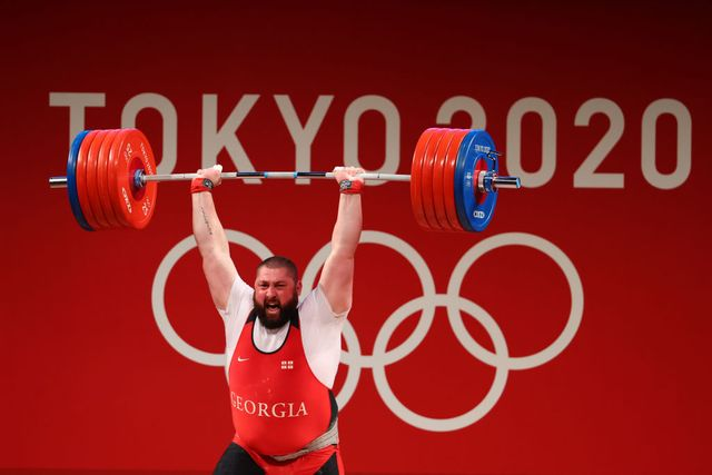 weightlifting   olympics day 12