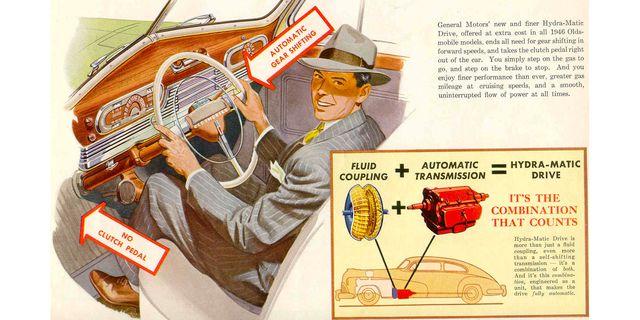 1941 oldsmobile hydra matic brochure