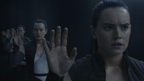 Los ultimos Jedi Rey escena de los espejos