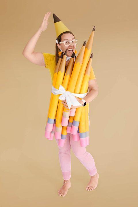 pencil halloween costume