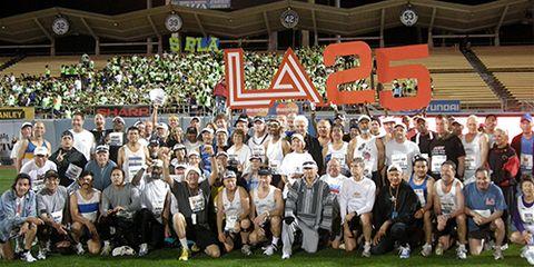 L.A. Marathon Streakers