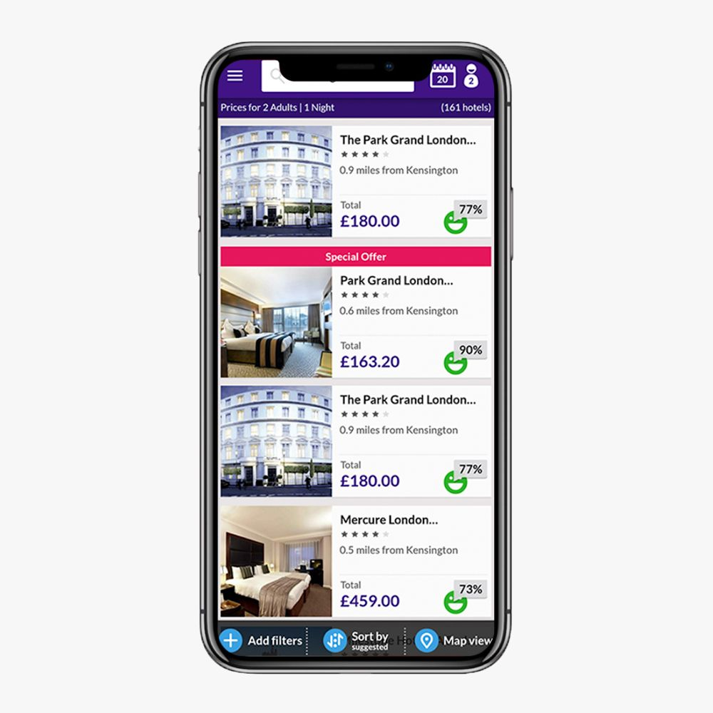 Hotel Booking Site from Junkoniwa Travel