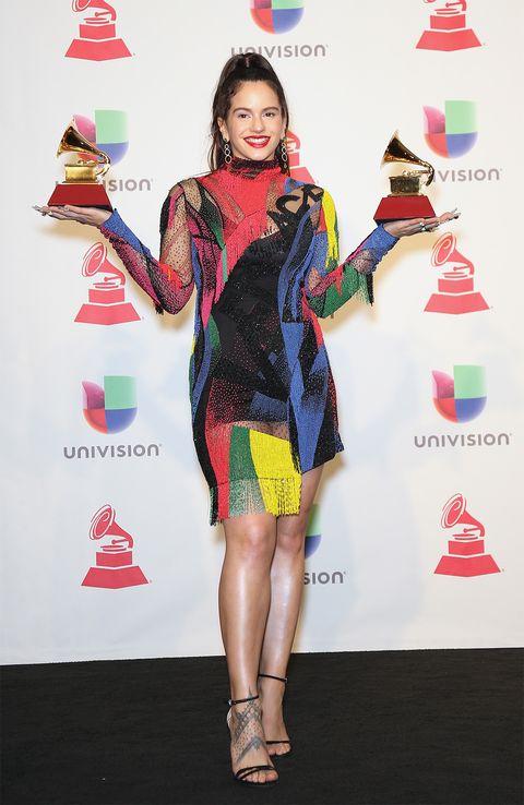 Alfombra roja e invitados en los Latin Grammy 2018