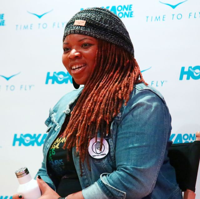 hoka one one hosts film and fitness event in nyc, moderated by poet and artist cleo wade, to celebrate latoya shauntay snell