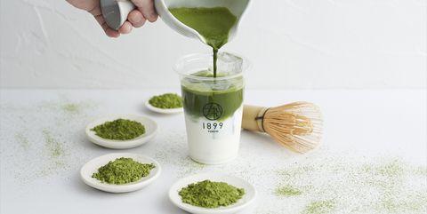 Matcha, Plant, Food, Drink, Herbal,