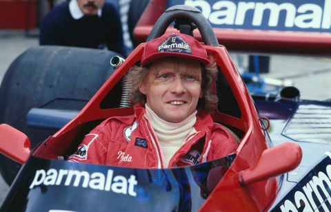 Portrait of Niki Lauda