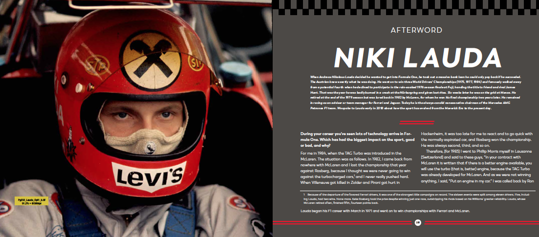 What Niki Lauda Still Has to Say about Formula 1 Racing