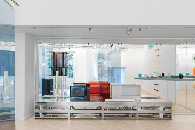 nuovi showroom milano design week 2021 laufen space milano, fuorisalone 2021