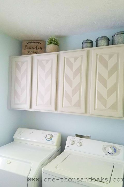 Clever Laundry Room Storage Ideas, White Wall Cabinets For Laundry Room