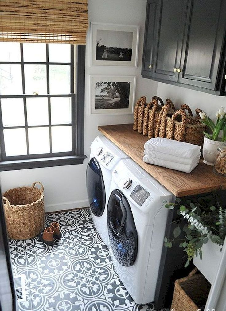 15 Best Small Laundry Room Ideas - Small Laundry Room Storage Tips
