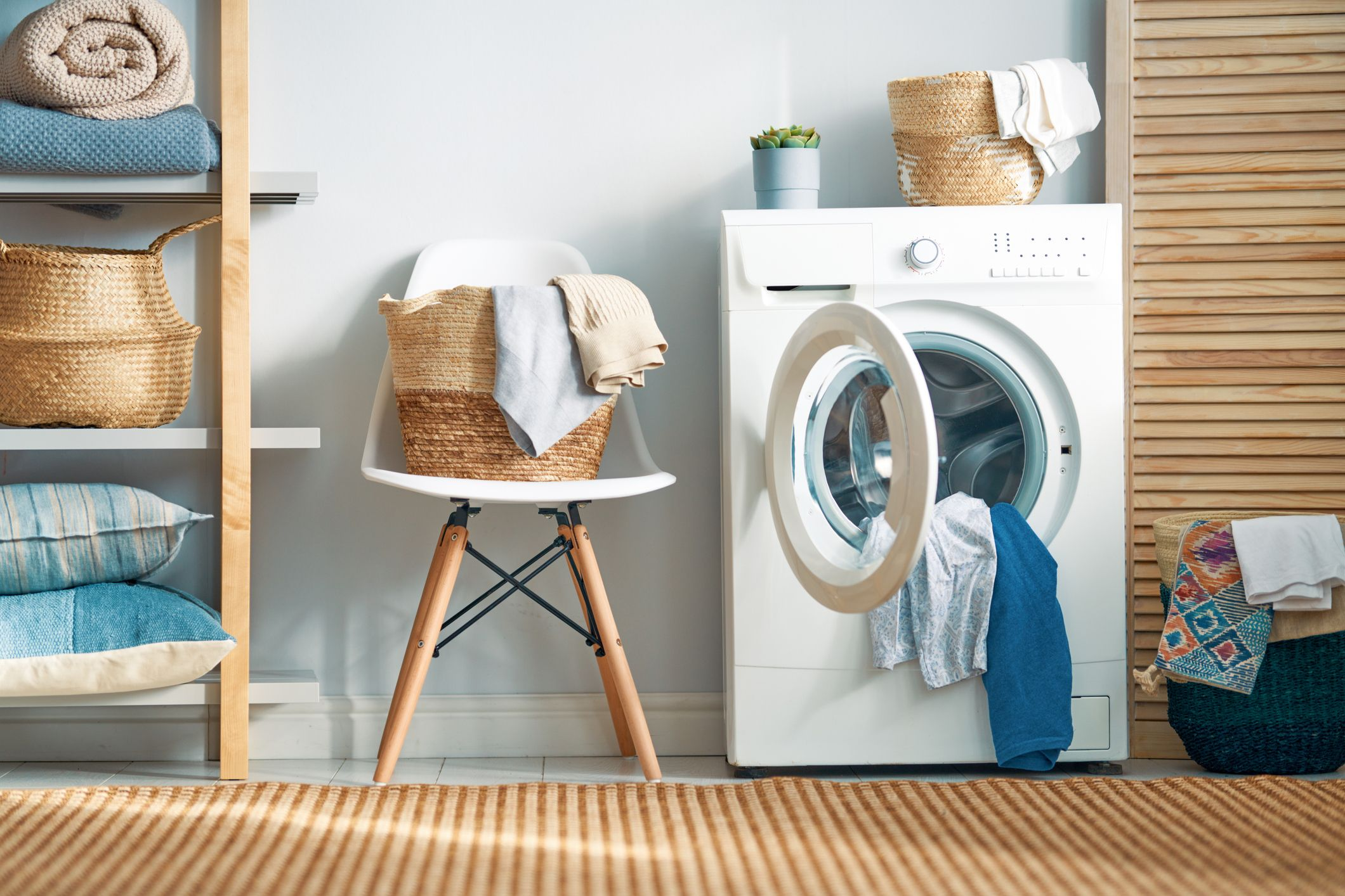12 Best Laundry Room Ideas - Clever Laundry Room Storage Ideas