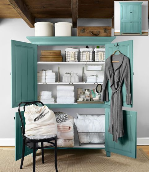 laundry room ideas armoire storage