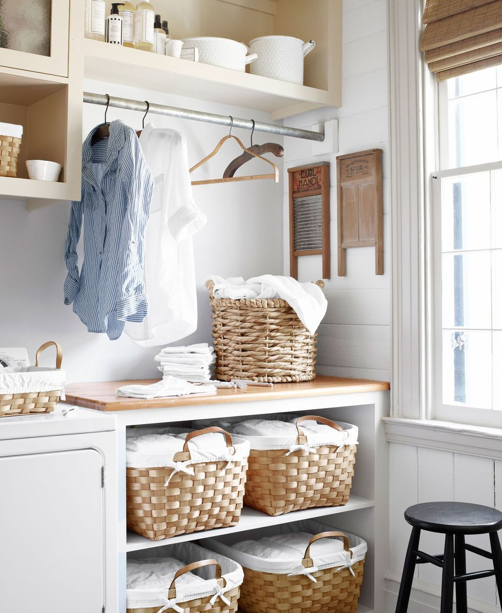 20 Best Laundry Room Ideas   How to Organize Your Landry Room