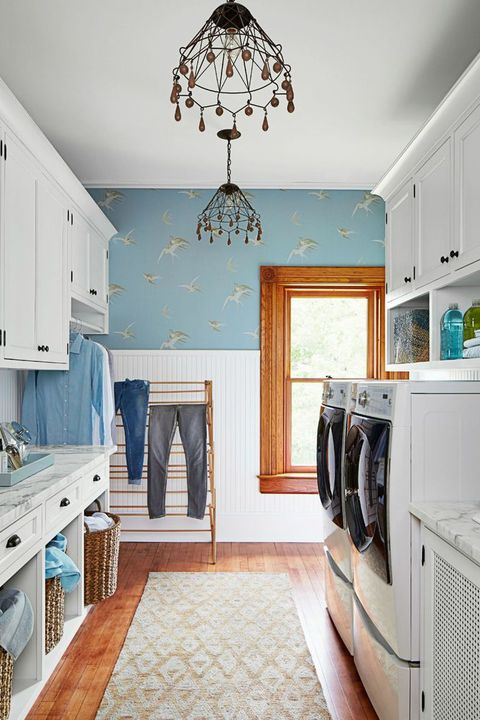 23 Small Laundry Room Ideas - Small Laundry Room Storage Tips on narrow kitchen remodel, narrow kitchen before and after, narrow kitchen storage, narrow kitchen island ideas, narrow kitchen makeovers, narrow kitchen countertop, narrow kitchen decorating ideas, narrow kitchen designs, narrow kitchen shelves, narrow kitchen plans, narrow kitchen furniture, narrow kitchen lighting,