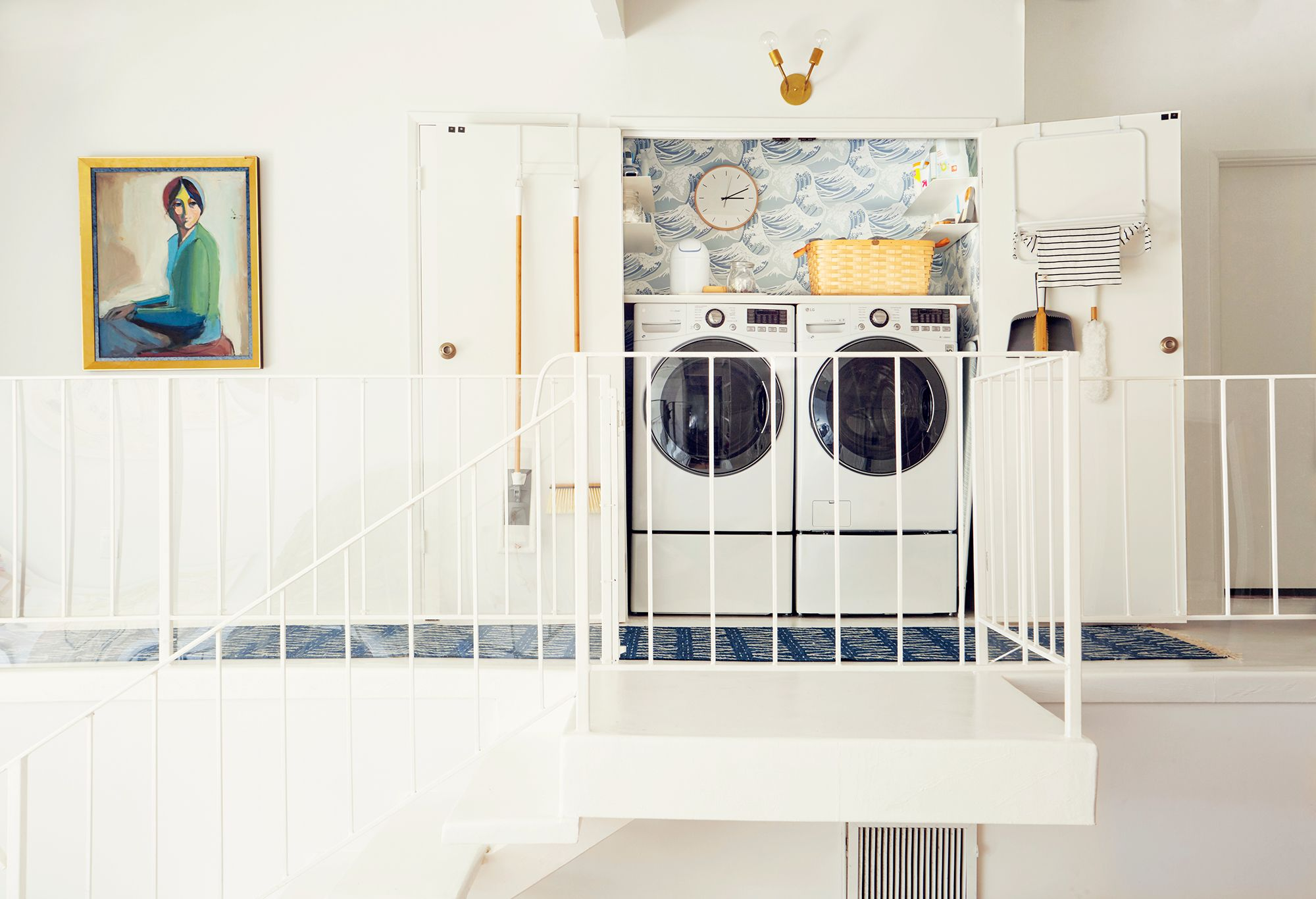30 Small Laundry Room Ideas Small Laundry Room Storage Tips