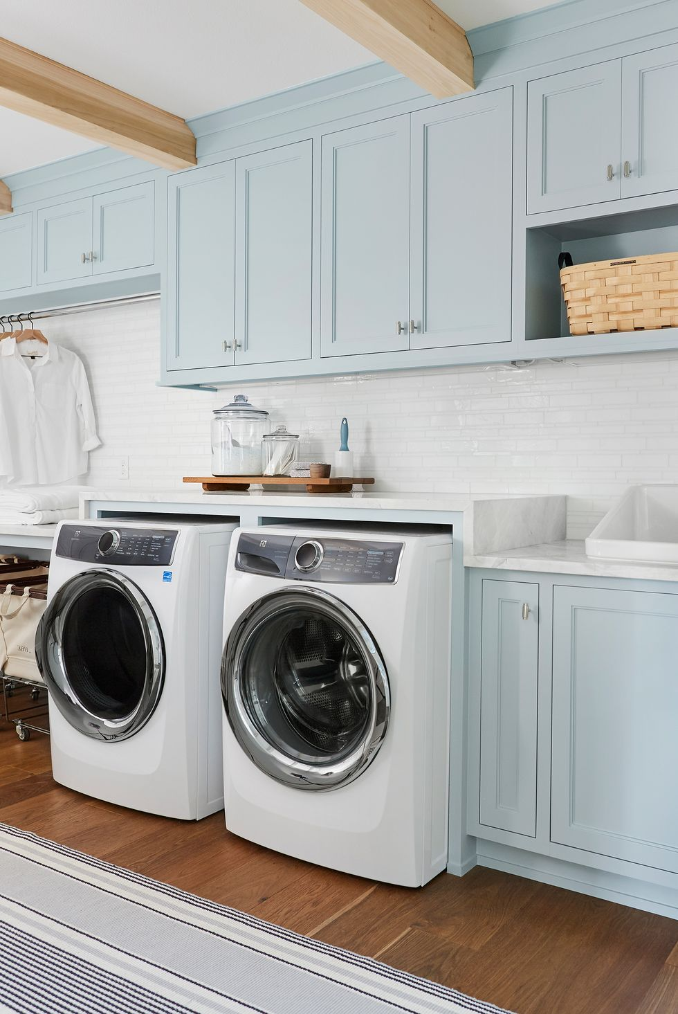 17 Small Laundry Room Ideas - Small Laundry Room Storage Tips