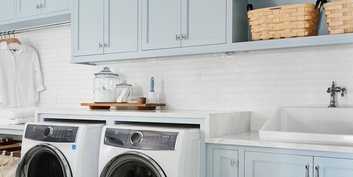 23 Small Laundry Room Ideas - Small Laundry Room Storage Tips