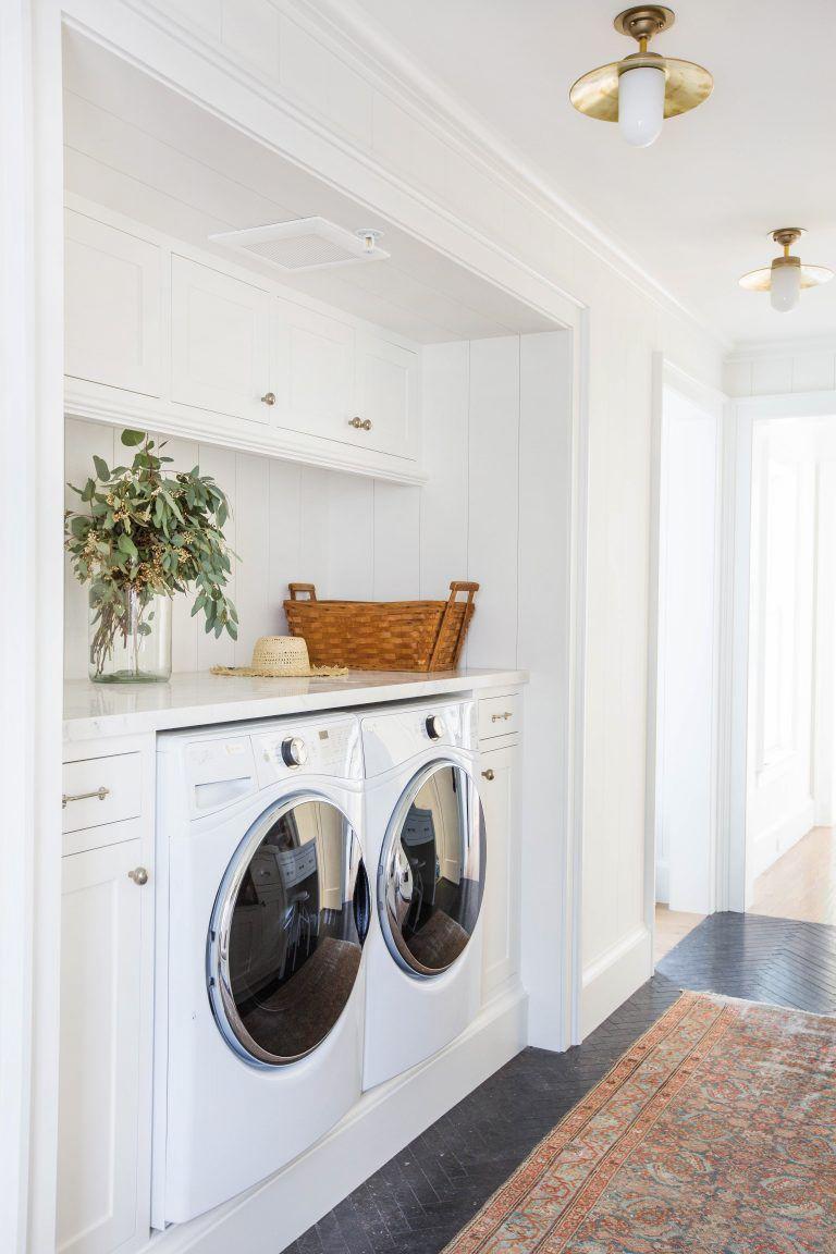 22 Small Laundry Room Ideas - Small Laundry Room Storage Tips