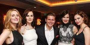 The Downton Abbey Wrap Party At The Ivy, London