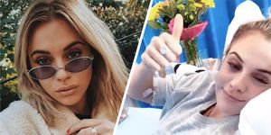 Love Island's Laura Crane has been rushed to hospital with sepsis