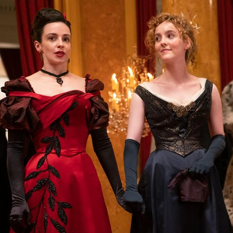 laura donnelly as amalia true, ann skelly as penance adair, the nevers
