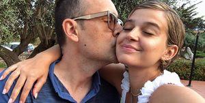 Laura Escanes y Risto de paseo con Roma
