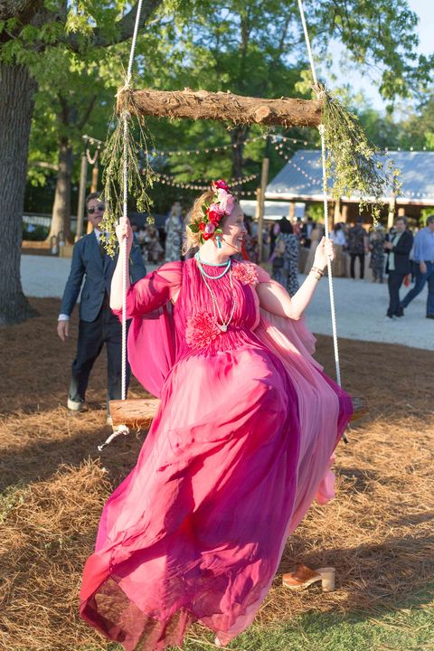 Pink, Green, Community, Dress, Tradition, Tree, Costume, Event, Magenta, Fun,