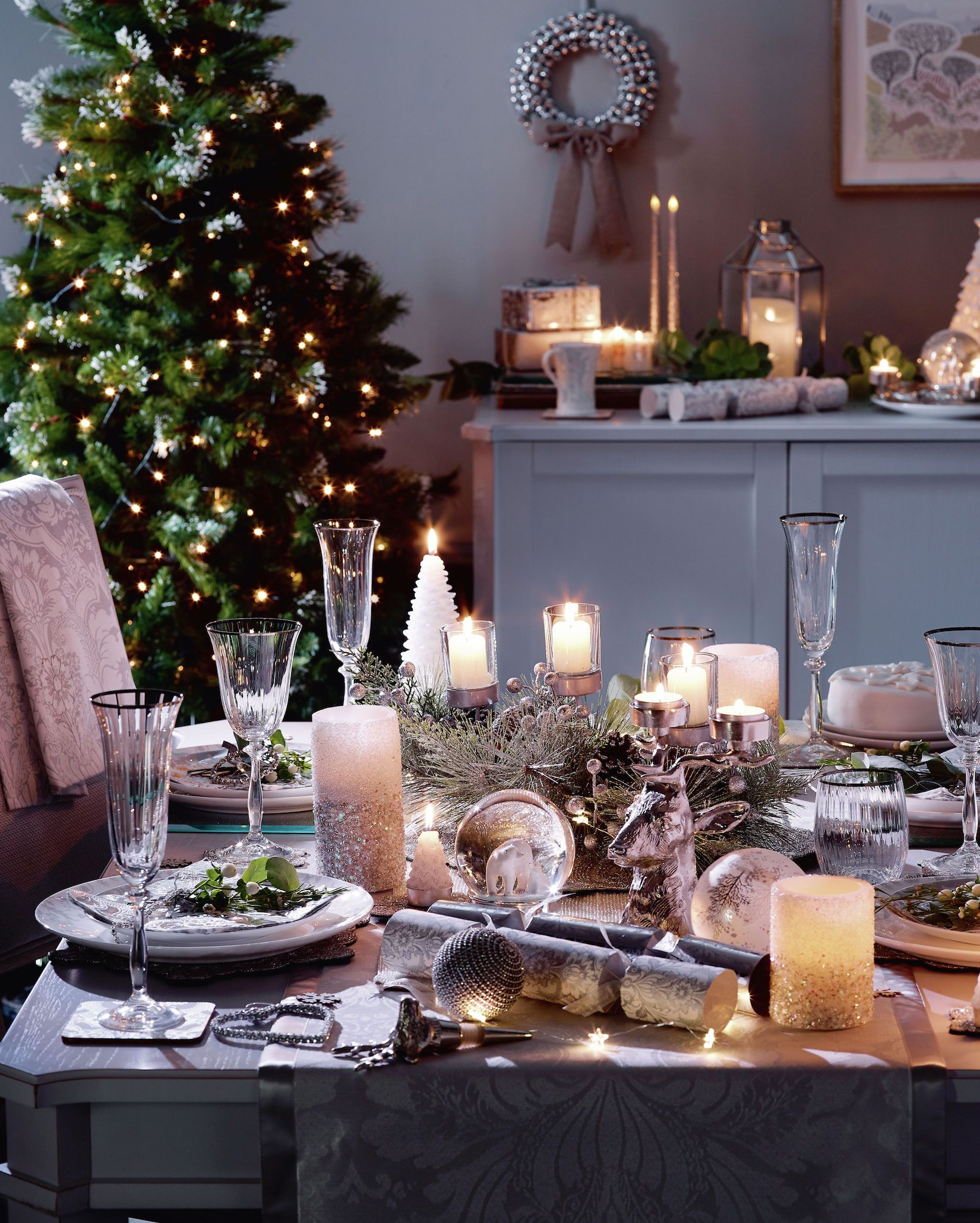 Laura Ashley Christmas dining table