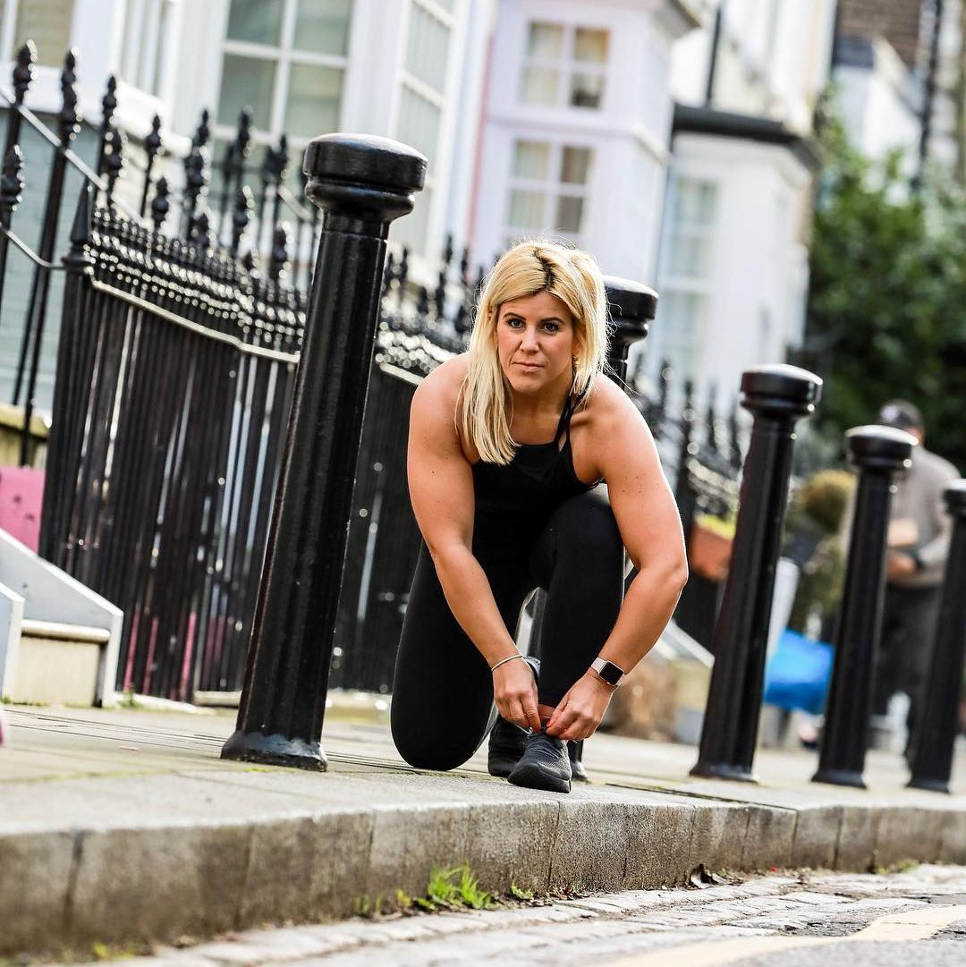 Meet Laura Biceps Who's Challenging Societies Norms About 'Being a Runner'