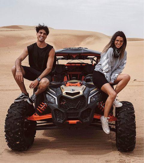 Laura Matamoros y Daniel Illescas disfrutan de una escapada de lujo a Dubái