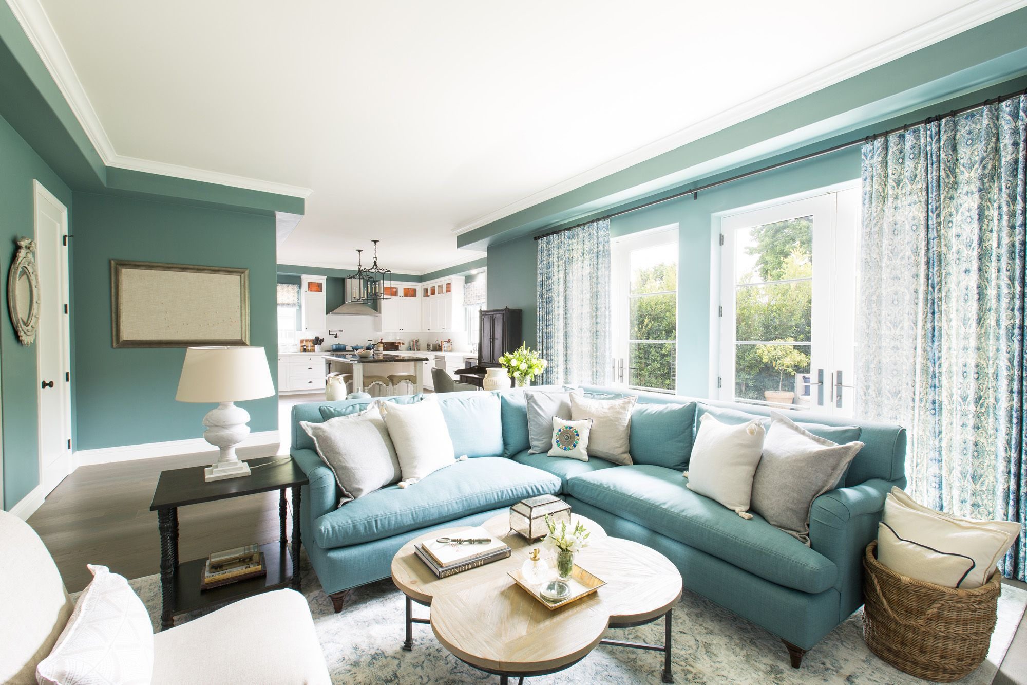 this stunning space came together in less than three months