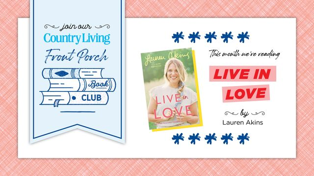 live in love is the country living book club selection