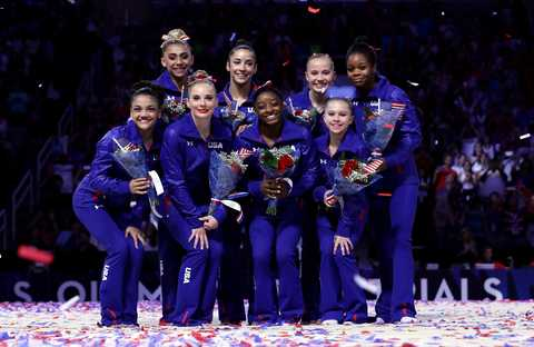 2016 us olympic trials   women's gymnastics   day 2