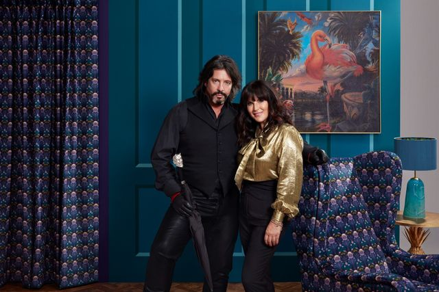 laurence llewlyn bowen and anna richardson on changing rooms