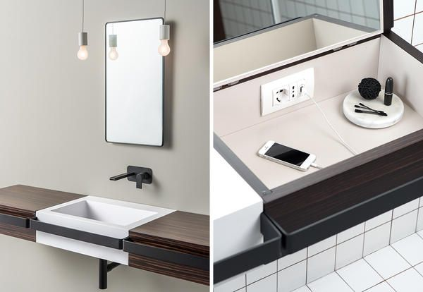 Un lavabo bagno design per tutte le età