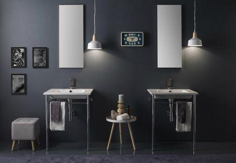 Lavello Bagno Sospeso : Lavabo bagno sospeso o da appoggio: le collezioni scarabeo