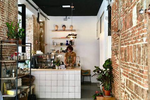 Plántate Café, cafés de especialidad en Lavapiés