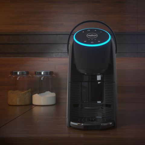 lavazza  amazon alexa coffee machine voicy