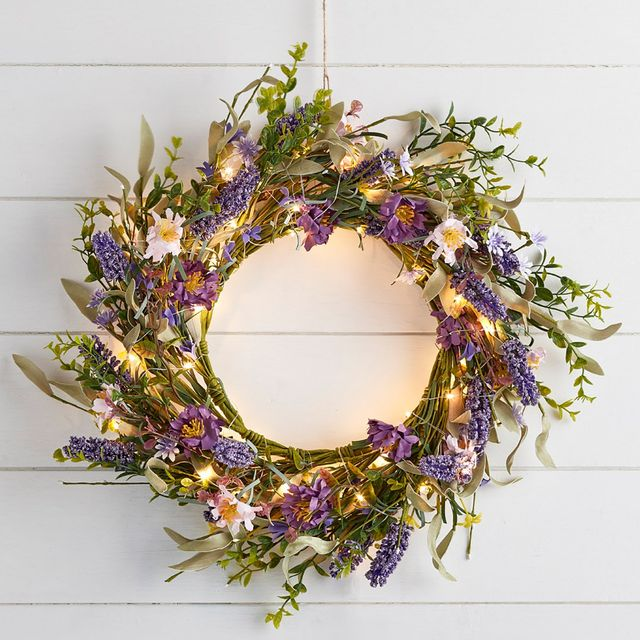17 best easter wreaths to buy for spring – spring wreath